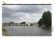 Montrichard Bridge Over Cher River Carry-all Pouch