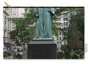 Monument John Watts Trinity Churchyard New York Carry-all Pouch