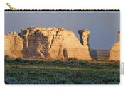 Monument Rocks Panorama Carry-all Pouch