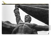 Monument To The People 0131 - Textured Pencil Carry-all Pouch