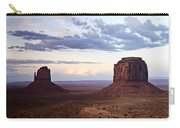 Monument Valley At Sunset Carry-all Pouch