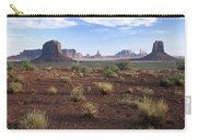 Monument Valley From North Window Carry-all Pouch