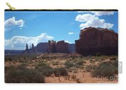 Monument Valley Scenic View Carry-all Pouch