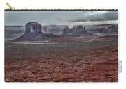 Monument Valley Ut 4 Carry-all Pouch