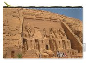 Monumental Abu Simbel Carry-all Pouch