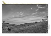 Moo Moon Bw Carry-all Pouch