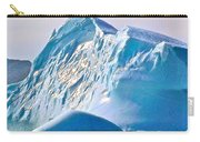 Moody Blues Iceberg Closeup In Saint Anthony Bay-newfoundland-canada Carry-all Pouch