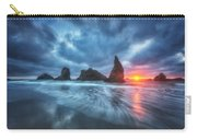 Moody Blues Of Oregon Carry-all Pouch by Darren  White