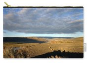 Moody Skies Over An Adobe Carry-all Pouch