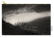 Moody Sunrise With Grasses And Birds Carry-all Pouch