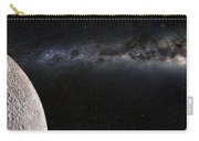 Moon And Galaxy. Carry-all Pouch