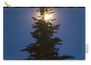 Moon Behind Spruce Carry-all Pouch
