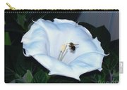 Moon Flower Carry-all Pouch