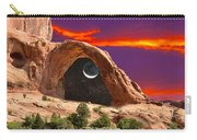 Moon In Corona Arch Carry-all Pouch