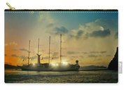 Moon Light On The Aegean Carry-all Pouch