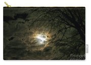Moon Light With Clouds Carry-all Pouch