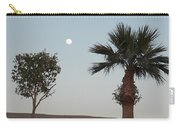 Moon Over Baja Desert Carry-all Pouch