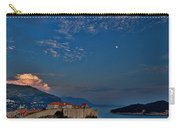 Moon Over Dubrovnik's Walls Carry-all Pouch