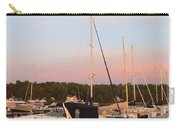 Moon Over Egg Harbor Marina Carry-all Pouch