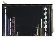 Moon Over Granville Street Carry-all Pouch by Ben and Raisa Gertsberg