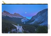 Moon Over Icefields Parkway Carry-all Pouch