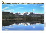 Moon Over Sprague Lake Carry-all Pouch