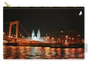 Moon Over The Danube Carry-all Pouch
