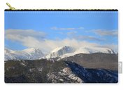 Moon Over The Rockies - Panorama Carry-all Pouch