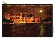 Moon Over Udaipur Painted Version Carry-all Pouch