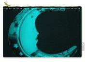Moon Phase In Turquois Carry-all Pouch