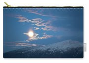 Moon Rise Over The Presidential Range Carry-all Pouch