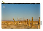Moon Rise Over Waste Land Carry-all Pouch