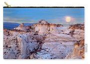 Moon Rising Over Escalante Staircase Carry-all Pouch