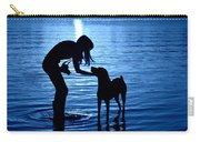Moon Shadow Carry-all Pouch by Laura Fasulo