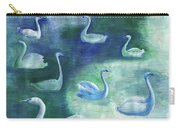 Moon Swans Carry-all Pouch