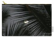 Moon  Through Palm Trees Carry-all Pouch