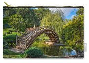Moonbridge - The Beautifully Renovated Japanese Gardens At The Huntington Library. Carry-all Pouch