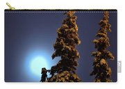 Moonlight In Lapland Carry-all Pouch
