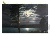 Moonlight On Yellowstone Lake Carry-all Pouch