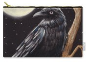 Moonlight Raven Carry-all Pouch