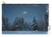 Moonlight Snow Carry-all Pouch