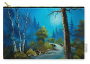 Moonlight Stream Carry-all Pouch by C Steele
