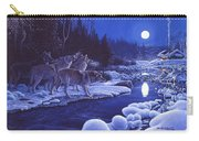 Moonlight Visitors Carry-all Pouch