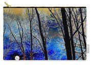 Moonlit Frosty Limbs Carry-all Pouch