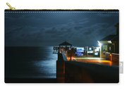 Moonlit Pier Carry-all Pouch by Laura Fasulo