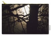 Moonlit Tree In The Forest Carry-all Pouch