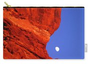 Moonrise Balanced Rock Arches National Park Utah Carry-all Pouch