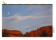 Moonrise In Sedona Carry-all Pouch
