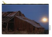 Moonrise Over Decrepit Barn Carry-all Pouch