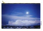 Moonrise Over Nova Harfa Carry-all Pouch